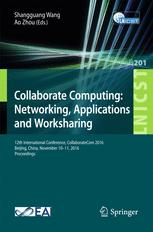 Collaborate Computing: Networking, Applications and Worksharing