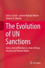 The Evolution of UN Sanctions