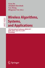 Wireless Algorithms, Systems, and Applications