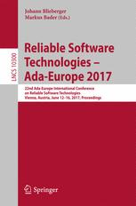 Reliable Software Technologies – Ada-Europe 2017