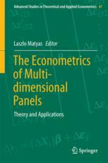The Econometrics of Multi-dimensional Panels