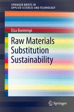 Raw Materials Substitution Sustainability