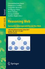 Reasoning Web. Semantic Interoperability on the Web