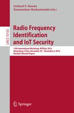 Radio Frequency Identification and IoT Security