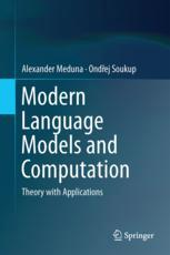 Modern Language Models and Computation