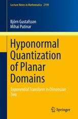Hyponormal Quantization of Planar Domains