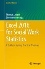 Excel 2016 for Social Work Statistics