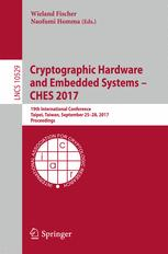 Cryptographic Hardware and Embedded Systems – CHES 2017