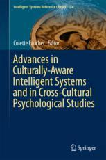 Advances in Culturally-Aware Intelligent Systems and in Cross-Cultural Psychological Studies