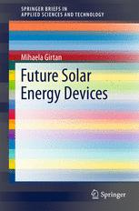 Future Solar Energy Devices