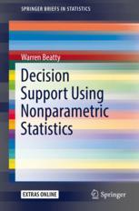 Decision Support Using Nonparametric Statistics