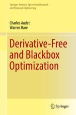 Derivative-Free and Blackbox Optimization