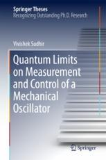 Quantum Limits on Measurement and Control of a Mechanical Oscillator :