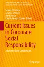 Current Issues in Corporate Social Responsibility