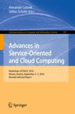 Advances in Service-Oriented and Cloud Computing