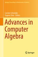 Advances in Computer Algebra