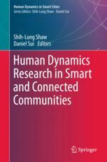 Human Dynamics Research in Smart and Connected Communities