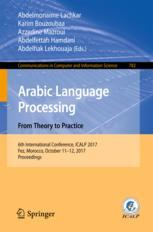 Arabic Language Processing: From Theory to Practice