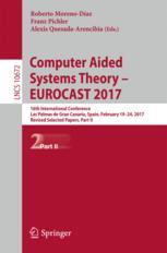 Computer Aided Systems Theory – EUROCAST 2017