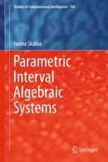 Parametric Interval Algebraic Systems