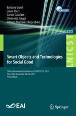 Smart Objects and Technologies for Social Good