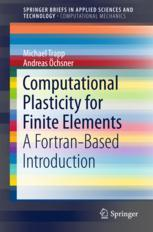 Computational Plasticity for Finite Elements