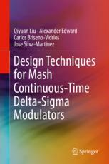 Design Techniques for Mash Continuous-Time Delta-Sigma Modulators