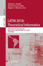 LATIN 2018: Theoretical Informatics