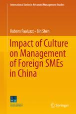 Impact of Culture on Management of Foreign SMEs in China