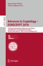 Advances in Cryptology – EUROCRYPT 2018