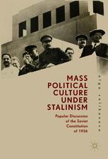 Mass Political Culture Under Stalinism