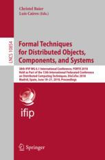 Formal Techniques for Distributed Objects, Components, and Systems