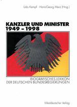 Kanzler und Minister 1949 – 1998
