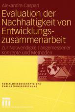 Evaluation der Nachhaltigkeit von Entwicklungszusammenarbeit