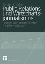 Public Relations und Wirtschaftsjournalismus