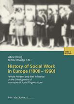 History of Social Work in Europe (1900–1960)