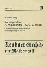Korrespondenz Adrien-Marie Legendre — Carl Gustav Jacob Jacobi