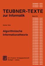 Algorithmische Informationstheorie