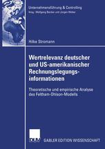 Wertrelevanz deutscher und US-amerikanischer Rechnungslegungsinformationen