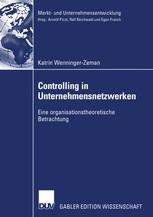 Controlling in Unternehmensnetzwerken
