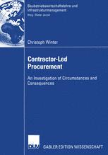 Contractor-Led Procurement