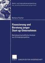 Finanzierung und Beratung junger Start-up-Unternehmen