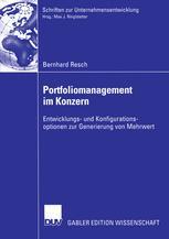 Portfoliomanagement im Konzern