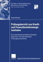 Prüfungsbericht von Kredit- und Finanzdienstleistungsinstituten