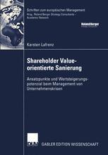 Shareholder Value-orientierte Sanierung