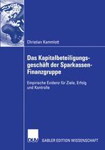 Das Kapitalbeteiligungsgeschäft der Sparkassen-Finanzgruppe