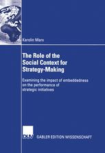 The Role of the Social Context for Strategy-Making