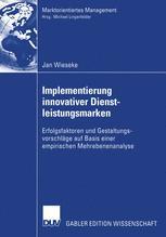 Implementierung innovativer Dienstleistungsmarken