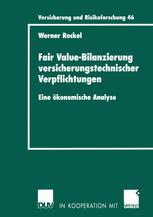 Fair Value-Bilanzierung versicherungstechnischer Verpflichtungen