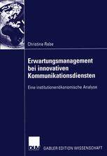 Erwartungsmanagement bei innovativen Kommunikationsdiensten